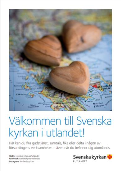 Bild på Välkommen till Svenska kyrkan i utlandet - A3 (pdf)