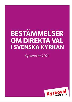 Bild på KV21. Bestämmelser direkta val 2021.